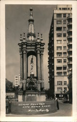 Victory Fountain Postcard