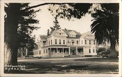 Headquarters, Sawtelle National Home for Disabled Volunteer Soldiers Postcard
