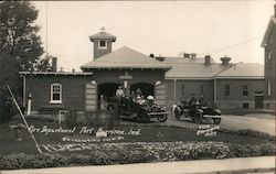 Fire Department, Fort Harrison Postcard