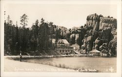 Sylvan Lake Hotel in the Black Hills Postcard
