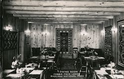 Dining Room, Cedar Pass Lodge Postcard