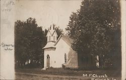 M.P. Church Postcard