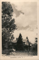 Robert Louis Stevenson Cottage Postcard