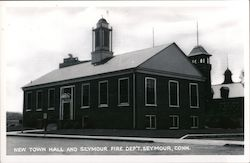 New Town Hall and Seymour Fire Dept.
