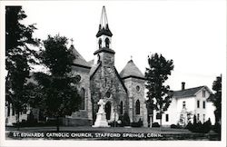 St. Edwards Catholic Church Postcard