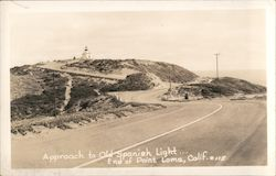 Approach to Old Spanish Lighthouse, Point Loma