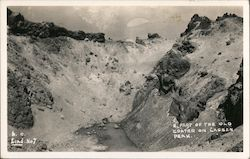 A Part of the Old Crater on Lassen Peak Postcard