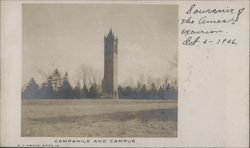 Campanile and Campus, Iowa State University Postcard