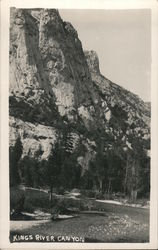 Kings River Canyon Postcard