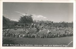Peterson's Rock Gardens Postcard