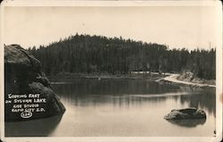 Looking East on Sylvan Lake Postcard