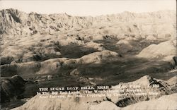 The Sugar Loaf Hills, Dillon Pass Postcard