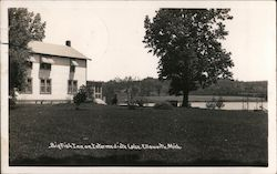 Big Fish Inn on Intermediate Lake Postcard