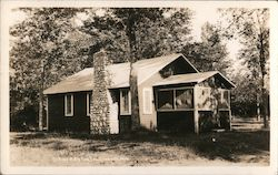 Cottage at Big Fish Inn Postcard