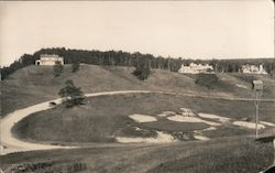 18th Green, Crystal Downs Country Club Postcard