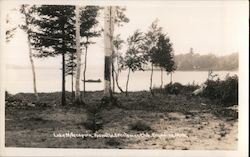 Lake Millecoquin Hiawatha Sportsman Club, Engadine, Mich. Postcard