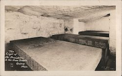 The Crypt of the Presidents in the Stone Temple Postcard
