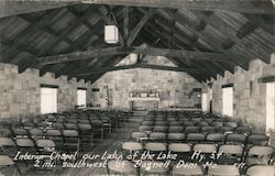 Interior Chapel, Our Lady of the Lake, SW of Bagnell Dam Postcard
