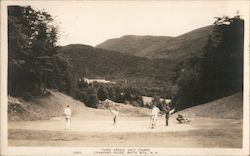 Third Green Golf Course, Crawford House Postcard