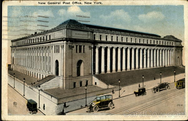 New General Post Office New York City