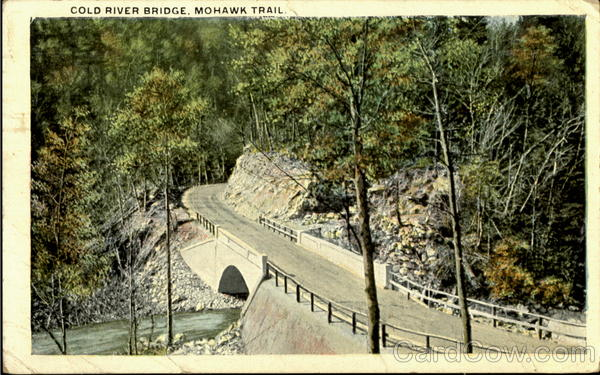 Cold River Bridge Mohawk Trail Massachusetts