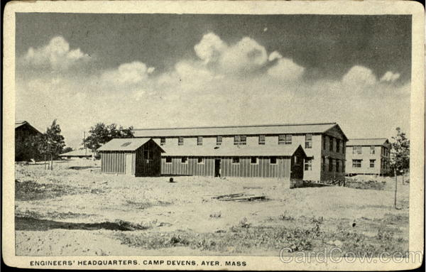 Engineers Headquarters, Camp Devens Ayer Massachusetts