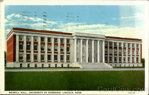 Morrill Hall, Univrsity of Nebraska Lincoln