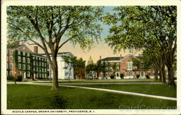 Middle Campus, Brown University Providence Rhode Island