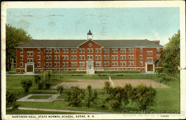 Huntress Hall, State Normal School Keene New Hampshire