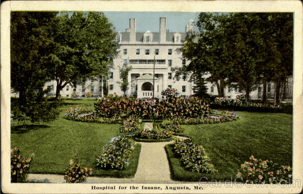 Hospital For The Insane Augusta Maine