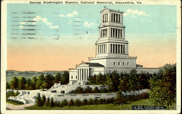 George Washington , Masonic National Memrial Alexandria Virginia