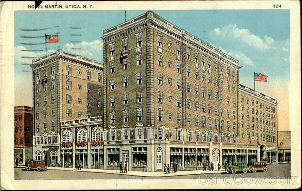 Hotel Martin Utica New York