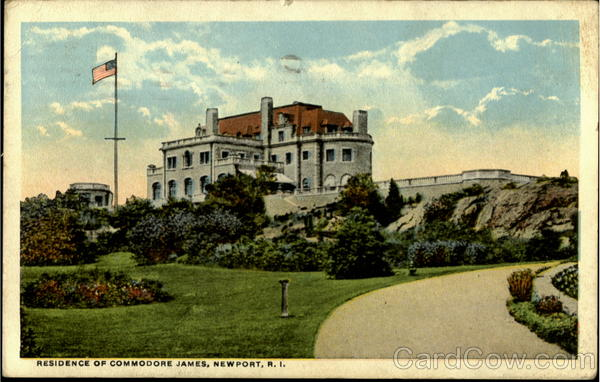 Residence Of Commodore James Newport Rhode Island