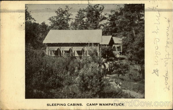 Sleeping Cabins Camp Wampatuck Plymouth County Massachusetts