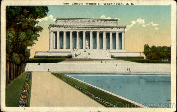 New Lincoln Memorial Washington District of Columbia