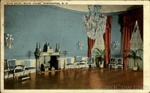 Blue Room White House, White House Washington District of Columbia