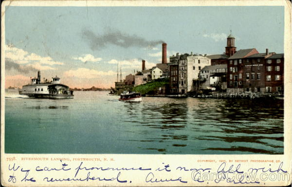 Rivermouth Landing Portsmouth New Hampshire