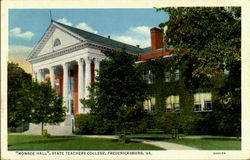 Monroe Hall, State Teachers College