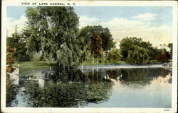 View Of Lake Carmel