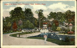 Swan And Duck Pond, Franklin Park