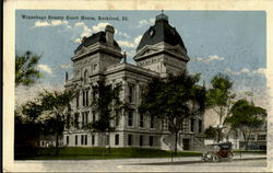 Winnebago County Court House Postcard