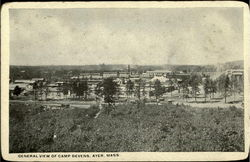 General View Of Camp Devens