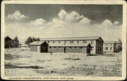 Engineers Headquarters, Camp Devens