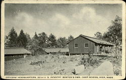 Officers Headquarters, Camp Devens