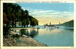 Steamer Mohican At Five Mile Point