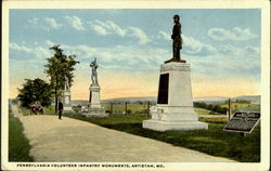 Pennsylvania Volunteer Infantry Monuments
