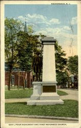 Gem's Poor Monument And First Reformed Church