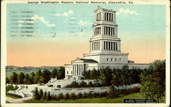 George Washington , Masonic National Memrial