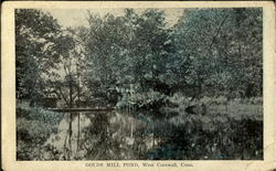 Golds Mill Pond Postcard