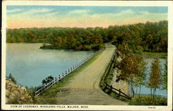 View Of Causeway Middlesex Fells